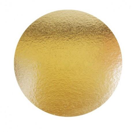 Support or double face rond diamètre 26 cm - paquet de 100