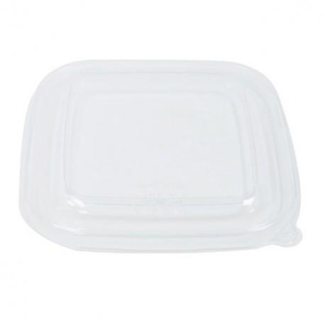 Couvercle pour saladier carré biodégradable 750 ml - par 50