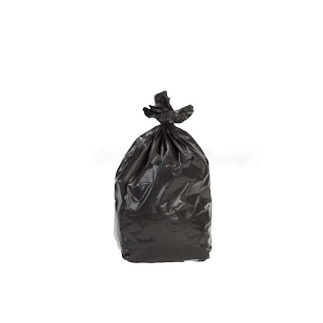 Sac poubelle noir 30 litres 25 microns - par 500