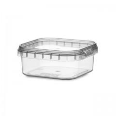 Boîte carrée avec fermeture de sécurité 125 ml - par 350