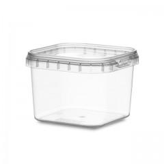 Boîte carrée avec fermeture de sécurité 225 ml - par 300