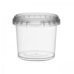 Pot rond avec fermeture de sécurité 365 ml - par 250