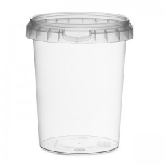 Pot rond avec fermeture de sécurité 520 ml - par 250