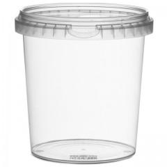 Pot rond avec fermeture de sécurité 870 ml - par 250