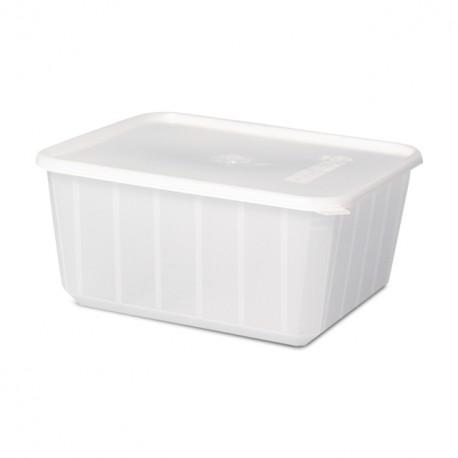 Barquette plastique micro-ondable 750 g - carton de 200