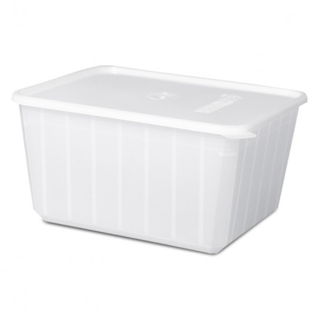 Barquette plastique micro-ondable 1,8 kg - carton de 100