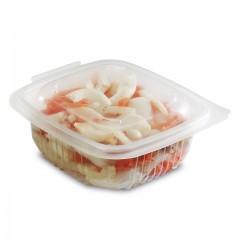Barquette plastique transparente Ondipack 250 ml avec couvercle - par 50