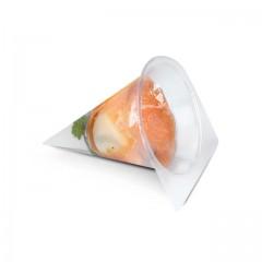 Moule cristal pour cornet à jambon en gelée - par 100