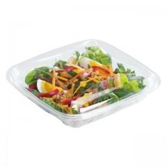 Boite à salade crudipack 1100 ml cristal avec couvercle - par 70
