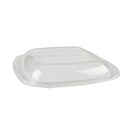 Couvercle en plastique recyclé pour saladier carré - par 50