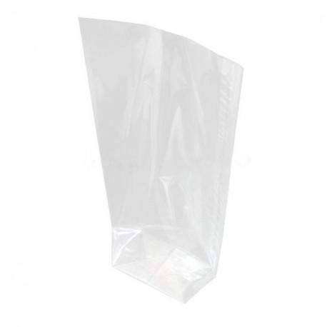 Sachet écorné plastique 145 x 255 mm - par 100