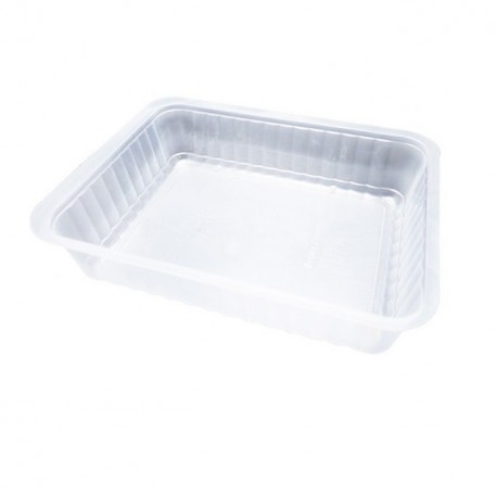 Barquette plastique scellable transparente 1500 gr Alphacel - par 450