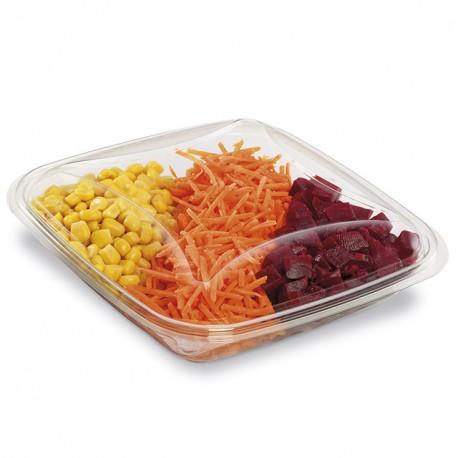 Boite à salade crudipack 750 gr cristal - par 70