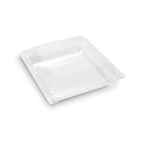 Boite plastique à salade TAKIPACK transparente 300 gr avec couvercle