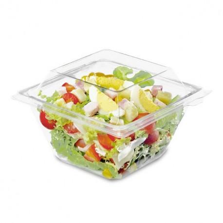 Barquette Freshipack transparente 250 gr avec couvercle attenant - par 560