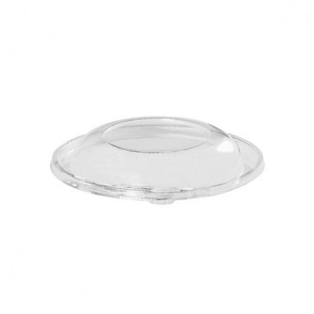 Couvercle dôme saladier rond jetable 18,7 cm - par 50