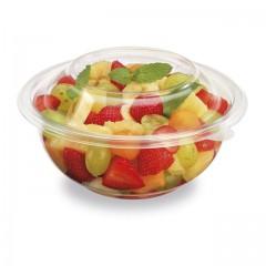 Saladier plastique transparent 18,7 cm - par 50