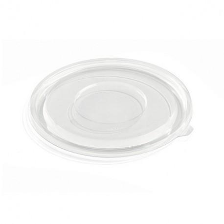 Couvercle plat pour saladier rond jetable 18 cm - par 360
