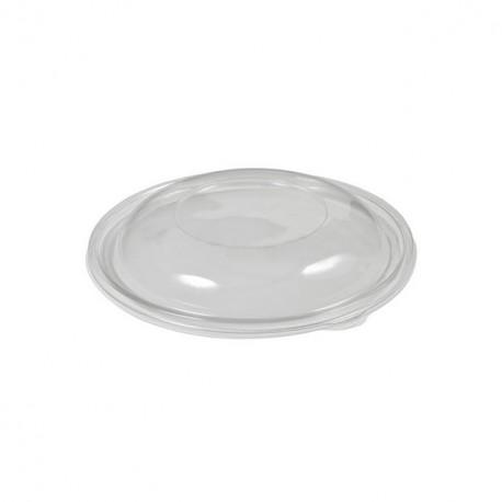 Couvercle dôme saladier rond jetable 14 cm - par 50