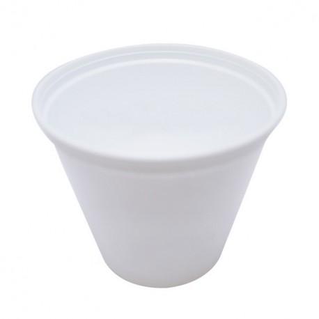 Pot à crème blanc de 50 cl - carton de 600