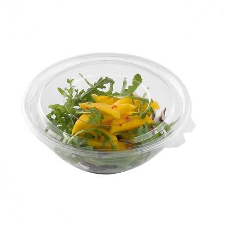 Saladier plastique transparent 18 cm - par 360