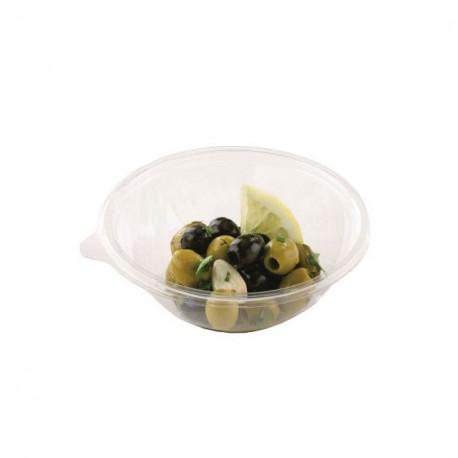 Saladier plastique transparent 14 cm - par 25