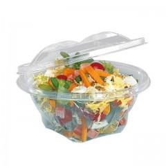 Bol salade cristal à couvercle déchirable 2000 ml - par 150
