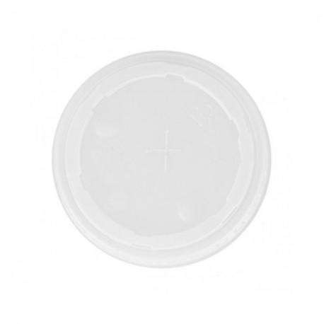 Couvercle plastique pour gobelet feel green 36 cl - par 100