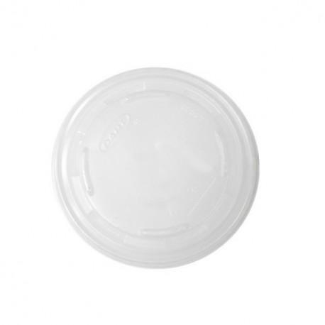 Couvercle plastique pour gobelet feel green 27 cl - par 125