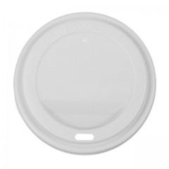 Couvercle plastique pour gobelet à café 40 cl - par 50