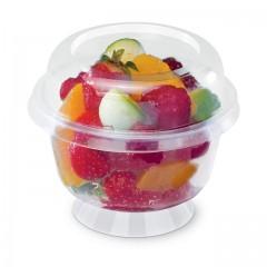 Coupe dessert à pied 200 ml effet cristal - par 25