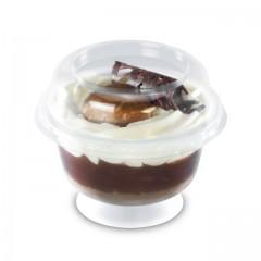 Coupe dessert 200 ml et son couvercle - par 20