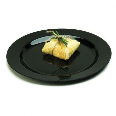 Assiette Mozaik 15 cm noire