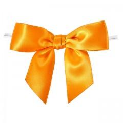 Noeud satin orange - par 100