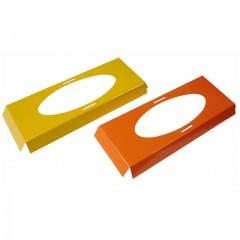Calages jaunes et oranges pour boîte à poisson de Pâques 24,8 x 8,8 x 2 cm - par 25