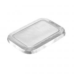 Couvercle pour barquette aluminium rectangulaire 440 ml - par 1000