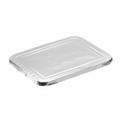 Couvercle pour barquette aluminium 2 compartiments 725 ml - par 1000
