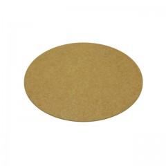 Support rond kraft brun lisse Ø 27 cm - par 100