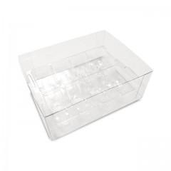 Boîte transparente pour 8 macarons - par 50