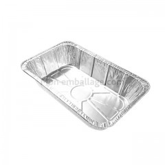 Plat aluminium 1500 ml (A2601) - par 100