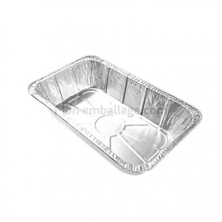 Plats aluminium 1550 g - carton de 700