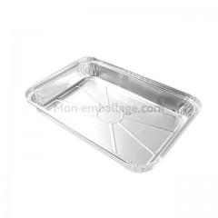 Plat aluminium fermable 2,4 kg - carton de 100