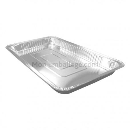 Plats aluminium 5,3 kg - carton de 50