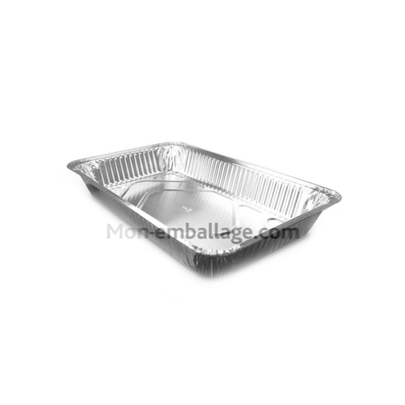Vente grand plat aluminium four jetable 8 8 kg pas cher - Plat aluminium jetable ...
