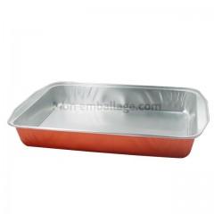 Plat aluminium 3,1 kg - carton de 100