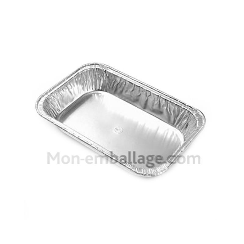 Vente petite barquette aluminium jetable 400 gr pas ch re - Plat aluminium jetable ...
