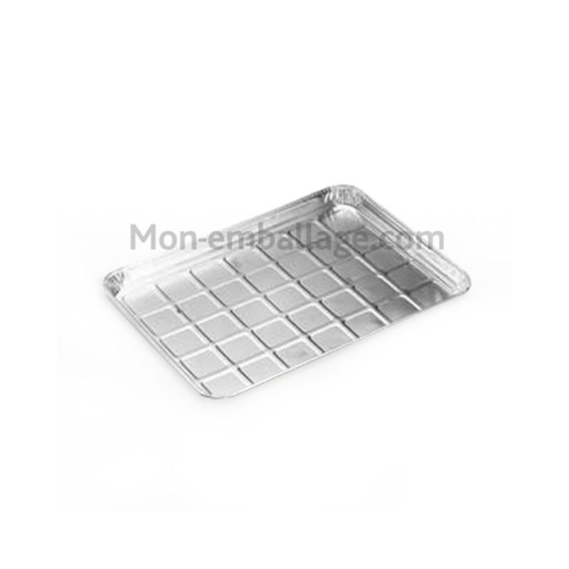 Vente grand plat aluminium 2 75 kg pour collectivit - Plat aluminium jetable ...