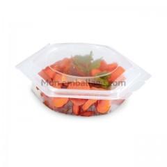 Barquette plastique Alphatop 125 gr micro-ondable avec couvercle - par 50
