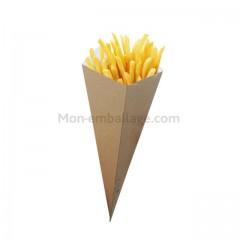 Cornet à frites et pop-corn - par 500