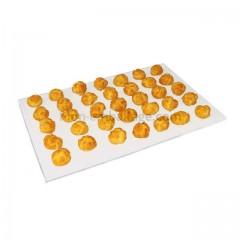 Papier de cuisson blanc Adherstop 43 gr/m² format 40 x 60 cm - paquet de 1000
